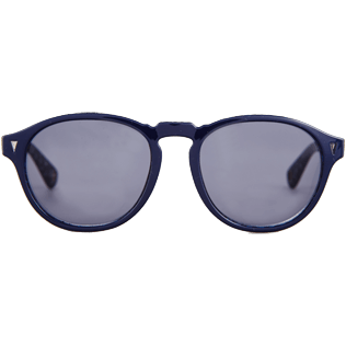 Sunglasses Printed - Turtles Acetate Sunglasses, Zeiss lenses, Navy front