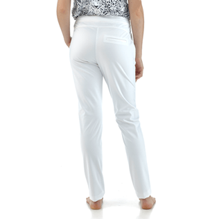 Women Pants Solid - Solid Skypants, White supp3