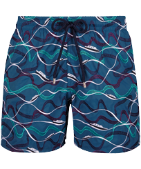 Men 017 Embroidered - Men Embroidered Swimwear Ostend - Limited Edition, Spray front