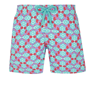 Boys Others Printed - Boys Swim Trunks Data Turtles, Cherry blossom front