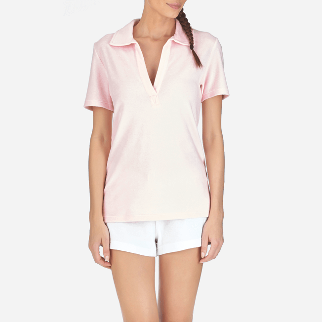 Vilebrequin - Women Terry Cloth Polo shirt Solid - 5