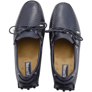Men 038 Solid - Loafers, Navy front