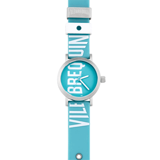 050 Solid - Vilebrequin 32mm Watch, Acqua front