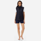 Others Printed - Unisex Reversible Sleeveless Down jacket Massimo Vitali, Sky blue supp7