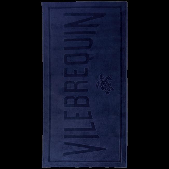 Vilebrequin - Serviette de plage Jacquard Unie - 1