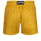 Uomo Classico ultraleggero Stampato - Men Swimwear Ultra-light and packable Micro Ronde des Tortues, Curry back