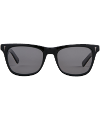 Others Solid - Unisex Sunglasses Polarized Smoke, Black front