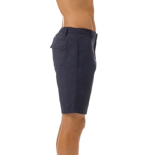Vilebrequin - Bermudas rectas en tejido de bañador con estampado liso para hombre - 5