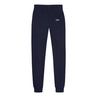 Uomo Altri Unita - Men Jogging Cotton Pants, Blu marine back