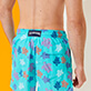 Men Classic Printed - Men Swimwear Ronde des Tortues Indies, Lazulii blue supp1