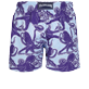 Men Classic Printed - Men Swimtrunks Vintage Octopus, Sky blue back