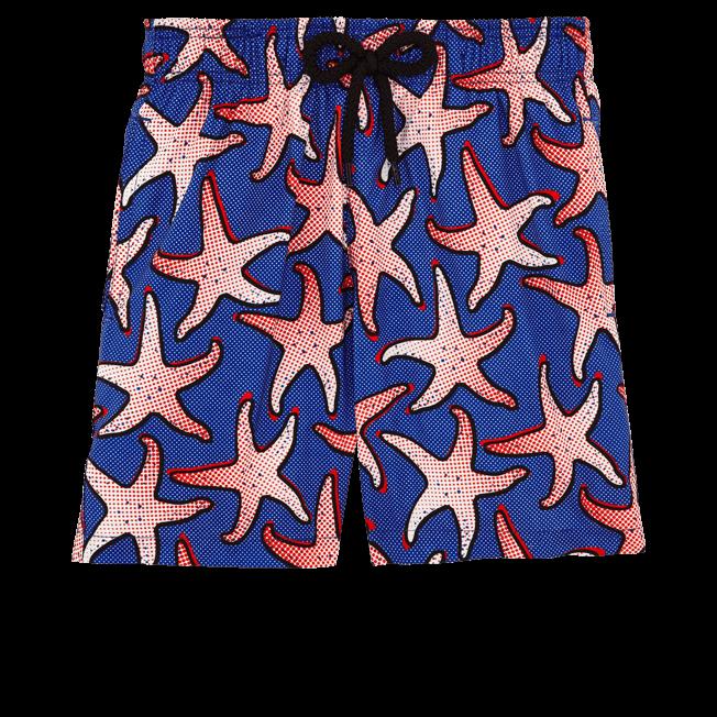 Vilebrequin - Maillot de bain Garçon Ultra Léger et Pliable Starfish Art - 1