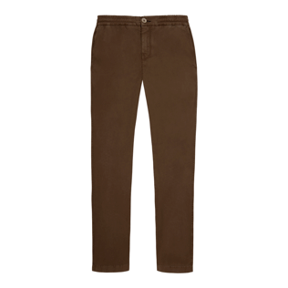 Men Others Solid - Men Jogging Gabardine Pants, Chocolate front