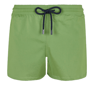 Men Short classic Solid - Men Swim Trunks Short and Fitted Stretch Solid, Cactus front