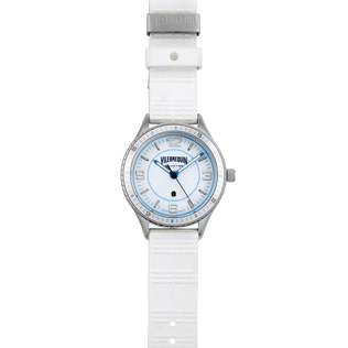 Others Solid - Stripped 43mm Watch, White front