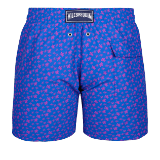 Men Classic Printed - Men swimtrunks Micro Ronde Des Tortues, Sea blue back