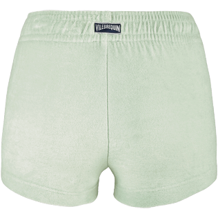 Women Others Solid - Women Terry Cloth Shortie Solid, Opaline back