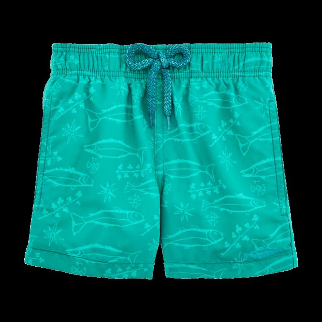 Vilebrequin - Water-reactive Sardines à l'Huile Swim Shorts - 3