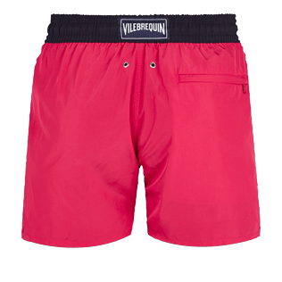 Men Ultra-light classique Solid - Men Swim Trunks Ultra-light and packable Bicolor, Gooseberry red back