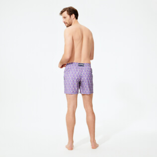 Men Ultra-light classique Printed - Men Swimwear Ultra-light and packable Indian Ceramic, Madras backworn