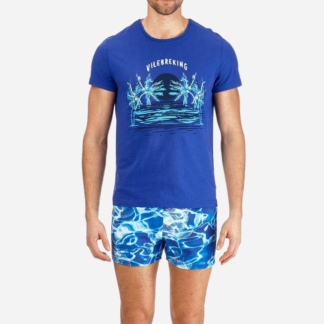 Vilebrequin - T-shirt en Coton Homme Vilebreking - 5