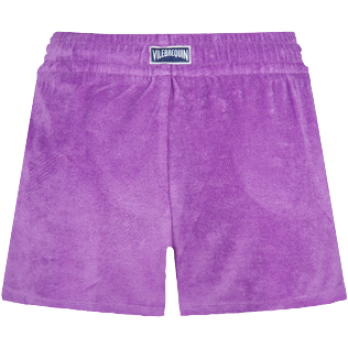 Women Others Uni - Women Terry Cloth Shorty Solid, Orchid back