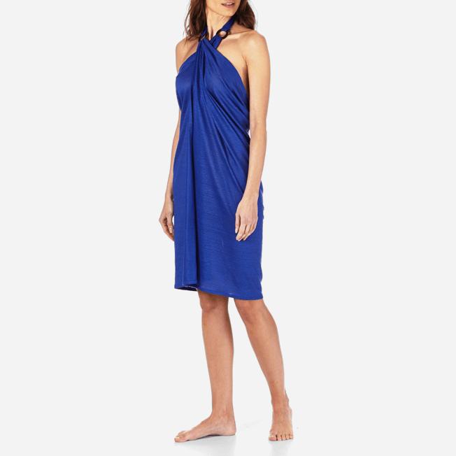 Vilebrequin - Robe paréo en Jersey de lin Femme Unie - 3