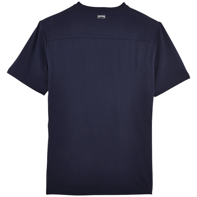 Vilebrequin - Men Pima Cotton Jersey T-shirt Solid - 2