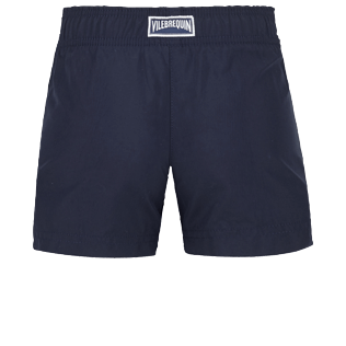 Girls Others Embroidered - Girls Swim Short The Year Of The Rat, Navy back