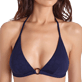 Women Halter Solid - Women Halter Bikini Top Ecailles de tortues, Midnight blue supp1
