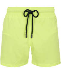 Men Short classic Solid - Men Swimwear Short and Fitted Stretch Solid, Coriander front