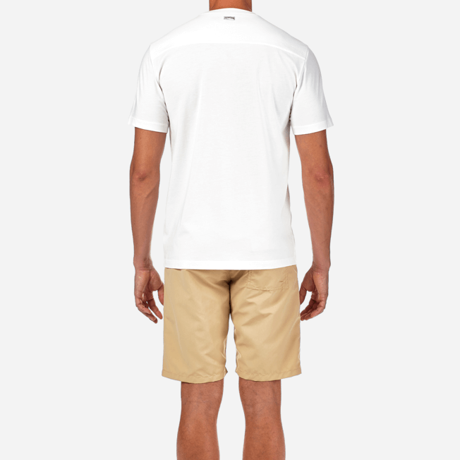 Vilebrequin - T-shirt en Jersey de Coton Pima Homme Uni - 6