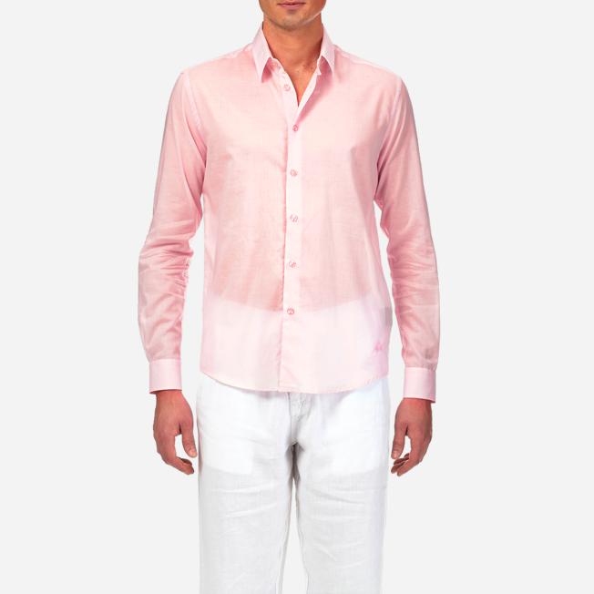 Vilebrequin - Unisex Cotton Shirt Solid - 5