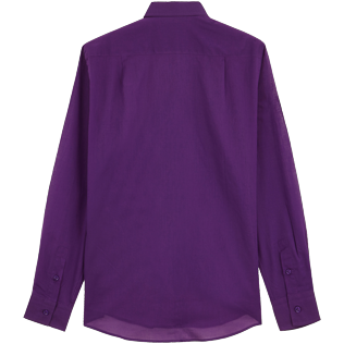 Others Solid - Solidsex Cotton Voile Light Shirt Solid, Plum back