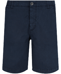 男款 Others 纯色 - Men Chino Bermuda Shorts Ultra-light, Navy front
