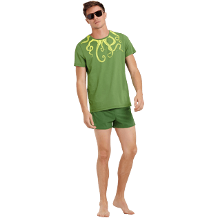 Men Others Printed - Men Cotton T-Shirt Octopussy, Sycamore supp2