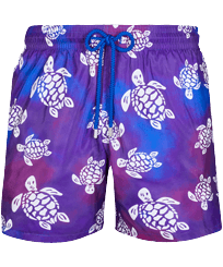 Men Ultra-light classique Printed - Men Swim Trunks Ultra-light and packable 1991 Original Turtles, Sea blue front