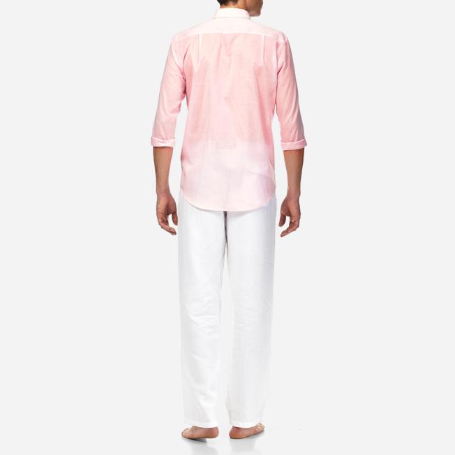 Vilebrequin - Unisex Cotton Shirt Solid - 4