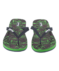 Men Others Printed - Men Flip Flops Madrague, Grass green frontworn