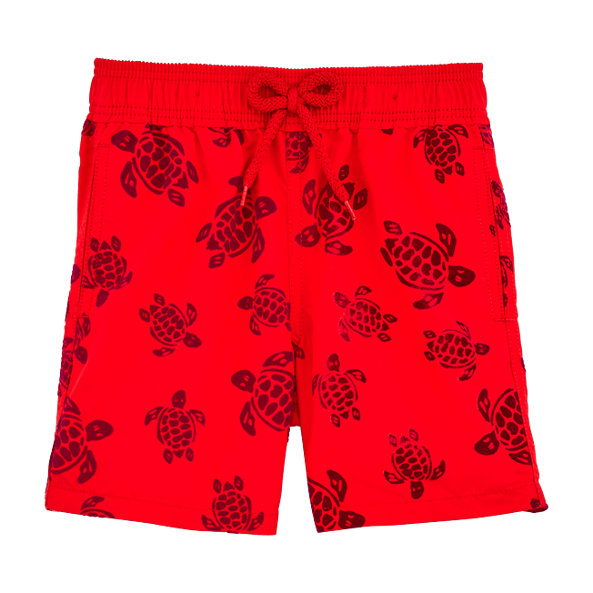 Vilebrequin - Flocked Turtles Swim shorts - 1