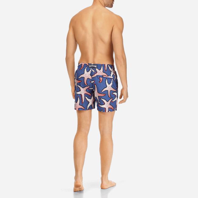 Vilebrequin - Maillot de bain Homme Ultra Léger et Pliable Starfish Art - 4