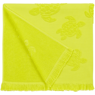 Andere Uni - Turtles Jacquard-Decke aus Frottee, Ginger back
