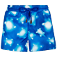 Women Others Printed - Women Shortie 100% Bio-Based Polyester Crystal Turtles, Atoll front