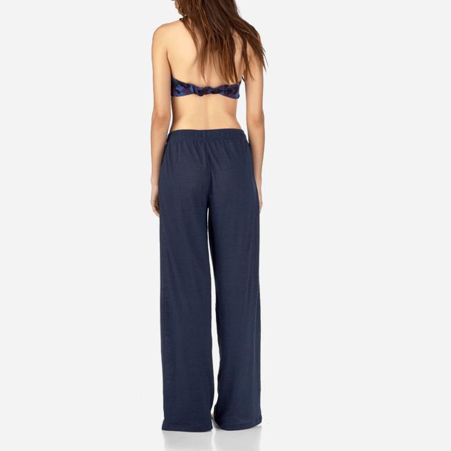 Vilebrequin - Pantalon Jersey Lin Uni - 4