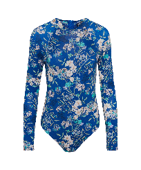 Women Others Printed - Women Rashguard Botanicals, Botanicals front