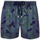 Men Stretch classic Printed - Men Swim Trunks Stretch Prince de Galles, Navy supp3