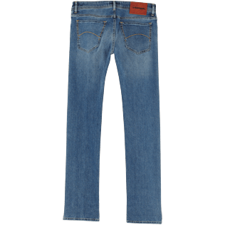 Homme AUTRES Uni - Pantalon 5 Poches Homme Coupe regular, Light denim w3 back