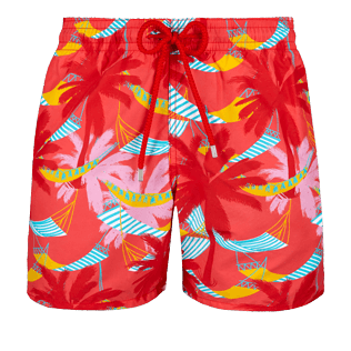 Men Classic Printed - Men Swimwear Ibiza, Hibiscus front
