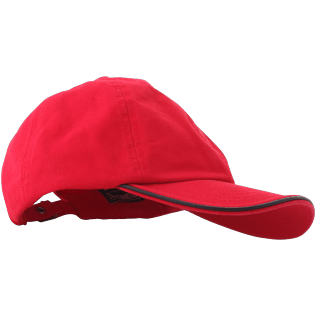 Autros Liso - Gorra lisa, Red polish front