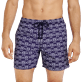 Men Classic Printed - Men Swim Trunks Hippocampes, Midnight blue supp1